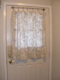 unique curtains door half window curtain pertaining to half door with regard to engaging curtain