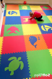 Create Beautiful Kids Playroom Floors Using SoftTiles Die Cut Foam