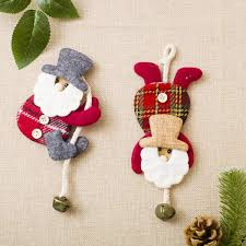 Compare Cute Inverted Santa Claus Christmas Tree Hanging