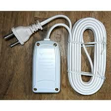 Ổ cắm điện du lịch đa năng 2 lỗ 2 mét 2200W 10A 250V VINAKIP - Ổ cắm điện  Thương hiệu vinakip