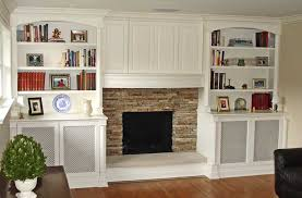 excellent painted media center and mantle gj19
