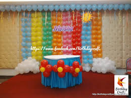 Small Picture Excellent Birthday Decoration At Home Ideas India 9 Looks Grand