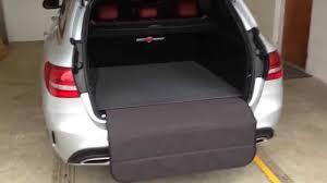 Mercedes C Class Estate Boot Buddy product breakdown - YouTube