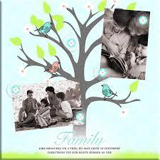 Family Tree Design In Illustration Board Buy Havoc Gifts 6663 4 Magnetic Photo Board Family Tree