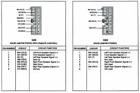ford stereo wiring wiring diagram  at Radio Harness Wiring For A 87 Ford Bronco Xlt