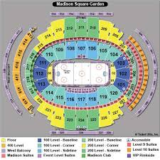 Msg Ny Rangers Seating Chart Madison Square Garden Hockey Seating Chart Growswedes Com