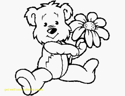 Get Well Printable Coloring Pages Childrens Get Well Printable