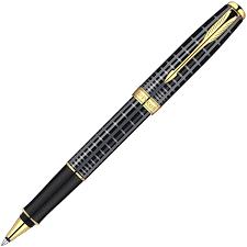<b>Ручка</b>-<b>роллер Parker Sonnet T531</b>, Dark Grey Laquer GT S0912460