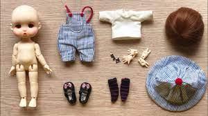Đồ chơi trẻ em, BÚP BÊ NHÀ GIÀU BJD Doll 18 KHỚP SIÊU ĐẸP - BJD doll oufit  clothes (Chim Xinh) - YouTube