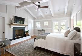 modern bedroom ceiling fan kids transitional with window treatments dark floor roman shades czmcam org