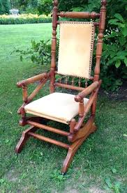 antique platform rocking chair best upholstery images on upholstery blues and cabin intended for antique antique