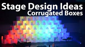 Church Stage Design Ideas Church Stage Design Ideas Corrugated Boxes Youtube