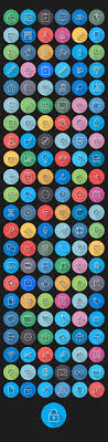 ios7 icons colorful flat icons pack dailydesignmag by cursor creative house via behance basic icons flat icons 1000