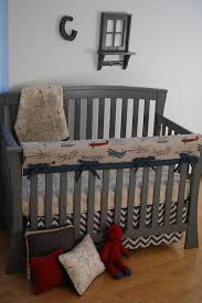 awesome vintage airplane fabric and chevron with world map on crib blanket airplane nursery bedding sets plan