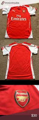 Puma Size Chart Football Shirt Puma Arsenal Soccer Shirt Fly Emirates Women Arsenal F C