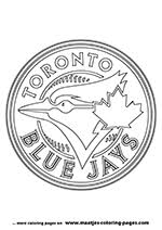Small Picture Blue Jays Mlb Coloring Pages Coloring Coloring Pages