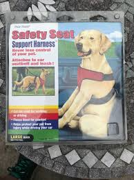 Four Paws Safety Seat Vest Harness Support Large Dog 65 110 Pounds