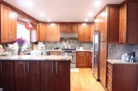 Modern Cherry Kitchen Cabinets Modern Cherry Shaker Kitchen Cabinets Cherry Shaker Kitchen