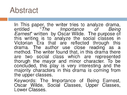 social classes analysis in victorian era reflected on oscar wilde s p   importance of being earnest written by khoirunnisa rakhmawati 2