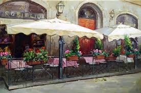 venice cafe italy italian tuscany rome wine vineyard provence bar art painting in painting calligraphy from home garden on aliexpress com alibaba