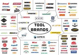 Power Tool Manufacturers Chart