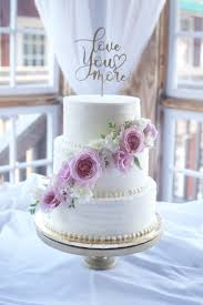 Simple Elegant With A Touch Of Rustic Frostingbuttercream Wedding