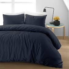 cotton linen duvet cover set nimsay home