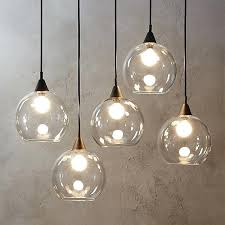 light globes for chandelier industrial modern chandelier suspends five glass globes from black 3 light globe light globes for chandelier three