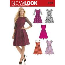 Sewing Patterns For Dresses Enchanting Discontinued New Look Pattern Dresses 48 Sewing Patterns Online