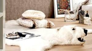 polar bear rug delivered polar bear rug stunning fake fur with head polar bear rug with