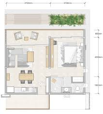 bedroom floor plan. 1 Bedroom Floor Plan