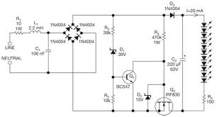 an improved offline driver lights an led string edn figure 2 the chopper operation is similar to the circuit of figure 1 the larger led series resistor instead of a constant current source provides the