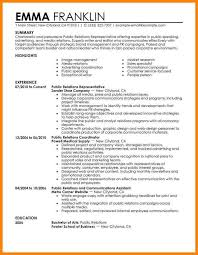 Public Relations Resume Delectable 28public Relations Resumes Samples Profesional Resume