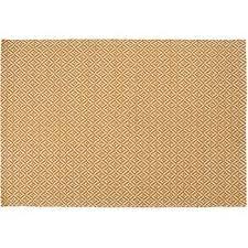 mira flatweave rug mustard 120 x 170cm