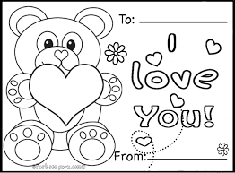valentines day card printable coloring pages free printable childrens valentines cards,printable free download on cute valentines template