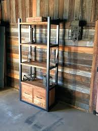 reclaimed wood bookcase industrial reclaimed wood storage bookshelf open shelving drawers reclaimed wood bookcase with glass