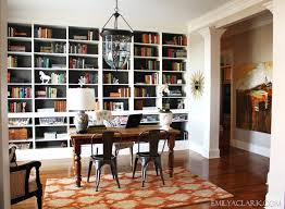 office dining room. Home Office With Built-in Bookcases Dining Room I