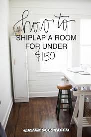 ship lath wall. how to shiplap a room for under $150 ship lath wall