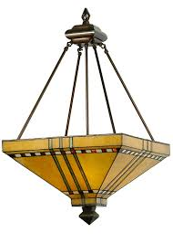 asian pendant lighting. Mission Stickley Southwest 17 Inch Square Prairie Corn Inverted Pendant By Meyda Lighting - 50621 Asian I