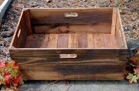 pallet crate furniture. Reclaimed Pallet Crate Rolling Furniture C
