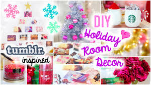 For Room Decoration Diy Holiday Room Decor Easy Simple Ideas Youtube
