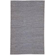 jaipur living naturals monaco 5 x 8 hand woven jute area rug in navy
