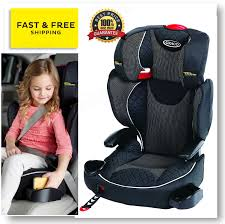 graco affix car booster seat isofix latch system high back group 2 3 15 36 kg