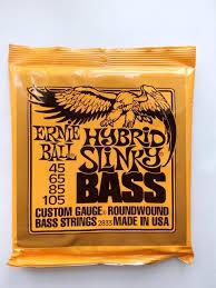 Бас-<b>гитарные струны Ernie Ball</b>. США. Установка, на...