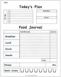 Exercise Journal Template Fitness Log New Calendar Site Free Workout