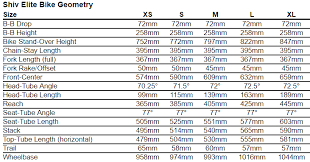 Specialized Mountain Bike Size Chart Specialized Camber Comp