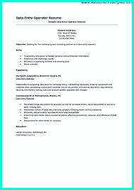 Resume For Data Entry Job Data Entry Sample Resume Resume For Study