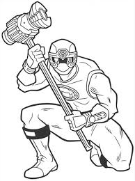 Download Free Printable Power Rangers Coloring Pages To Color Online