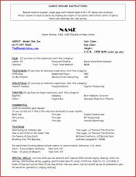 Acting Resume Format Best Of Acting Resume Beginner O Acting