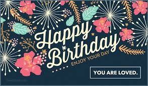 That's all it takes to brighten the day of a friend with a free ecard! Pin On Birthday Cards